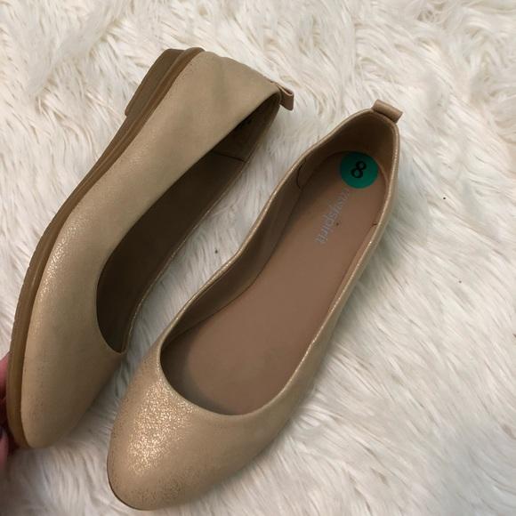 e01c2a69e Easy Spirit Shoes | Getcity Metallic Flats 8 | Poshmark